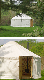 The Yurt in our grounds